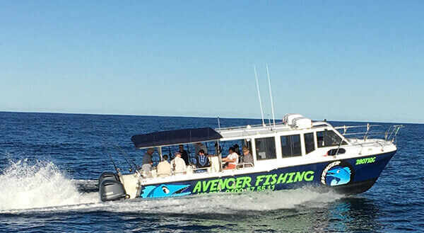 avenger gold coast fishing charters other general 2